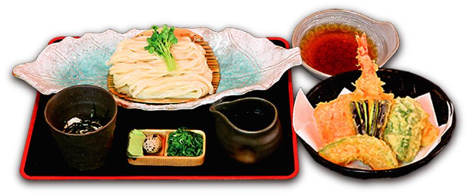 天ぷらつけ麺(冷)